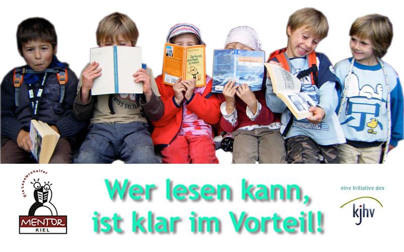 MENTOR-Kiel – Die Leselernhelfer